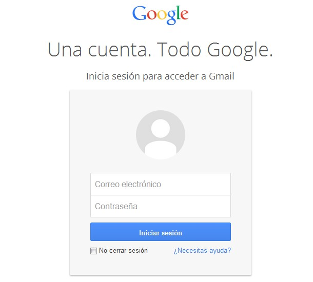 iniciar sesion gmail