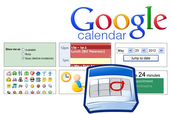 Cambiar el color de Google Calendar