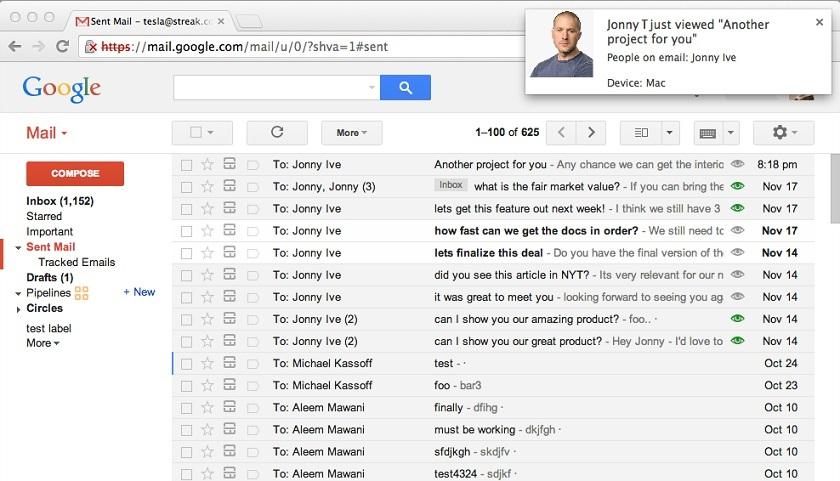 Enviar emails enviados en Gmail