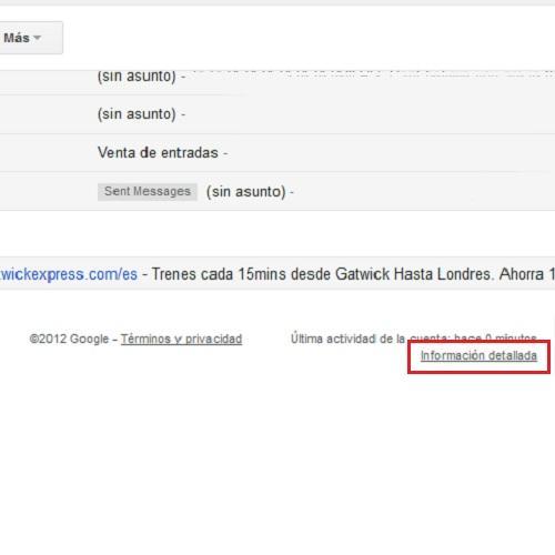cerrar sesión de gmail